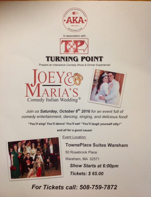 Joe and Maria's Comedy Italian Wedding