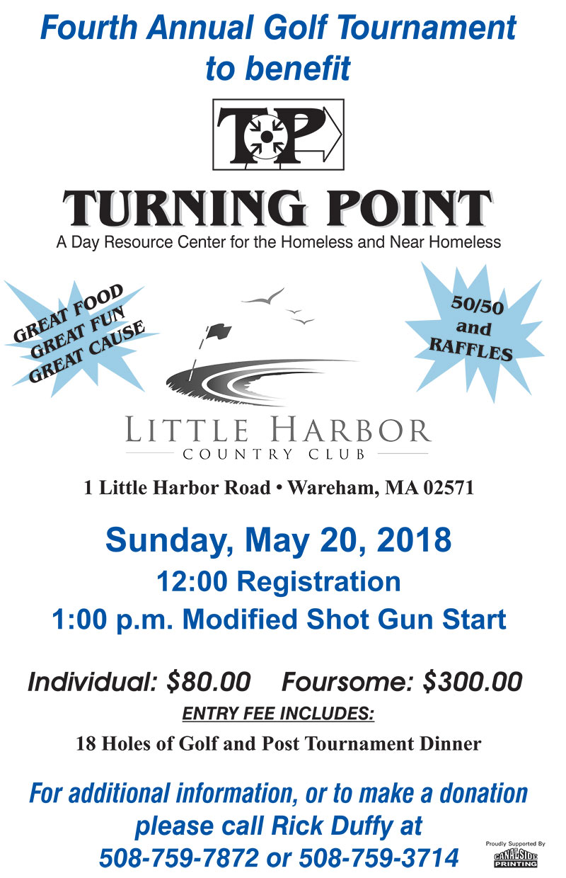 golf tournament to benefit Turning Point Warehem 2018